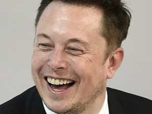 Elon smokes a joint as stocks slide