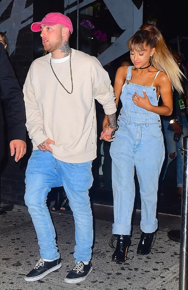 Ariana Grande and Mac Miller in happier times.
