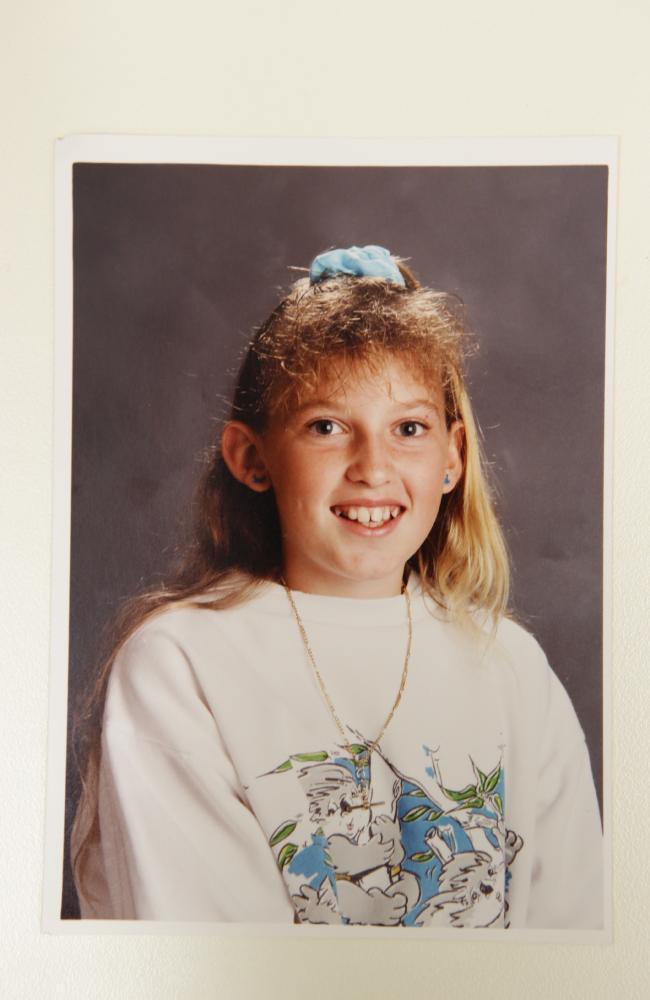 Rhianna Barreau aged 11.