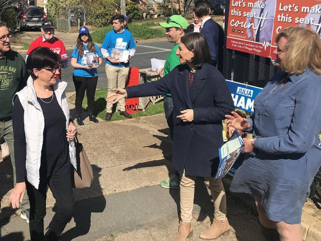 The NSW government braces for potential defeat in the regional seat of Wagga Wagga. Picture: AAP Image/Tom Rabe