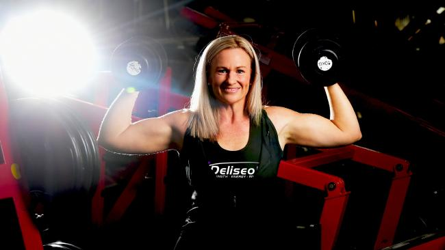 Angela Atkinson, 41, of Bluewater, has lost 45kg over the past three years and is competing in ANB Townsville on September 8 and IFBB on September 23.