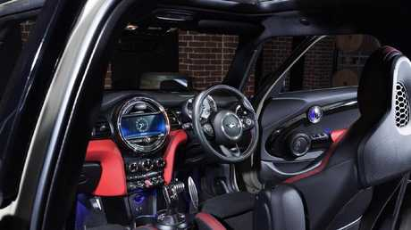 Extras cover: On the Mini Cooper nearly everything that should be standard costs extra.
