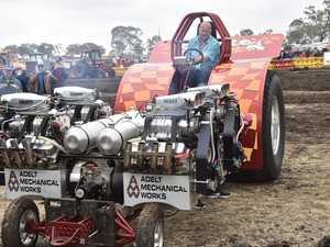 Biddeston tractor pull