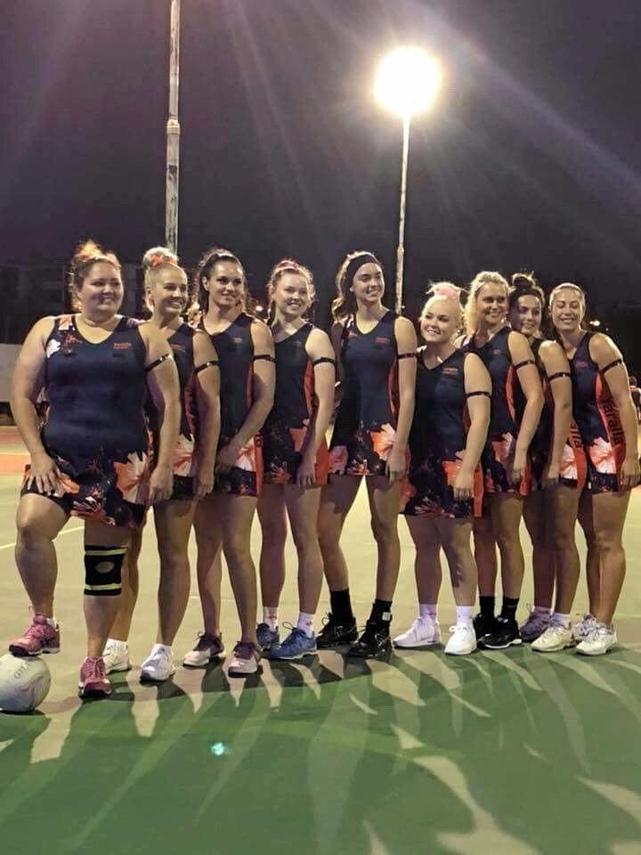 Champion team Yaralla Falcons