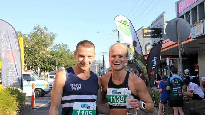 Blake Reardon and Courtney Gilfillan took out the Darrel Chapman Fun Run 10km men's and women's events.