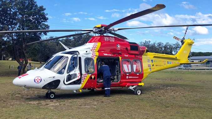 Person trapped after serious car crash near Bangalow