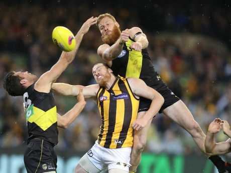 Is Jarryd Roughead still enjoying his football? Picture: Alex Coppel