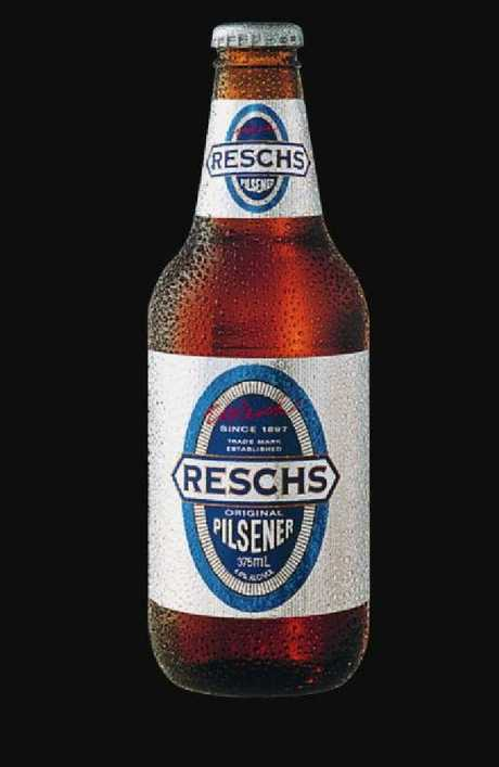 Resch's was taken over by Carlton and United Breweries, the owners of Victoria Bitter. Resch's Draught and Pilsner beer are still popular today.