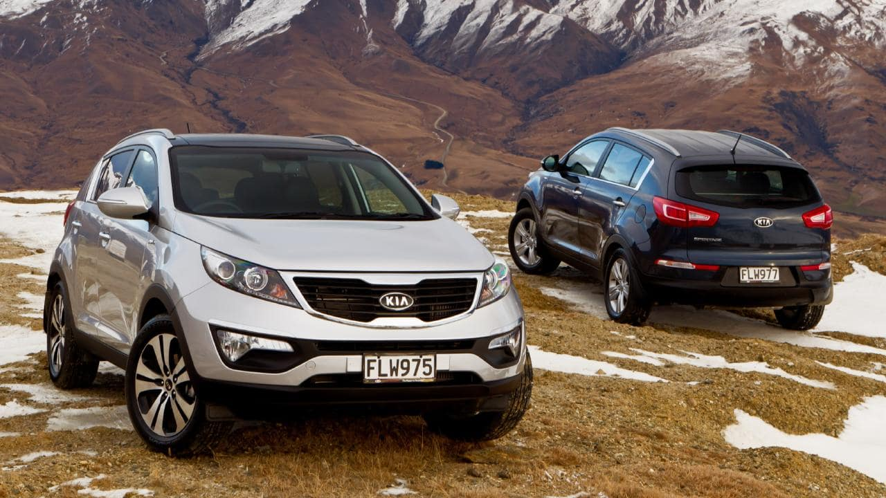 The base Kia Sportage models were well-equipped by comparison to its competitors. Picture: Supplied