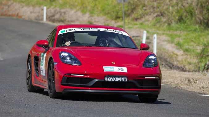 Porsche Cayman GTS at Targa Great Barrier Reef Rally