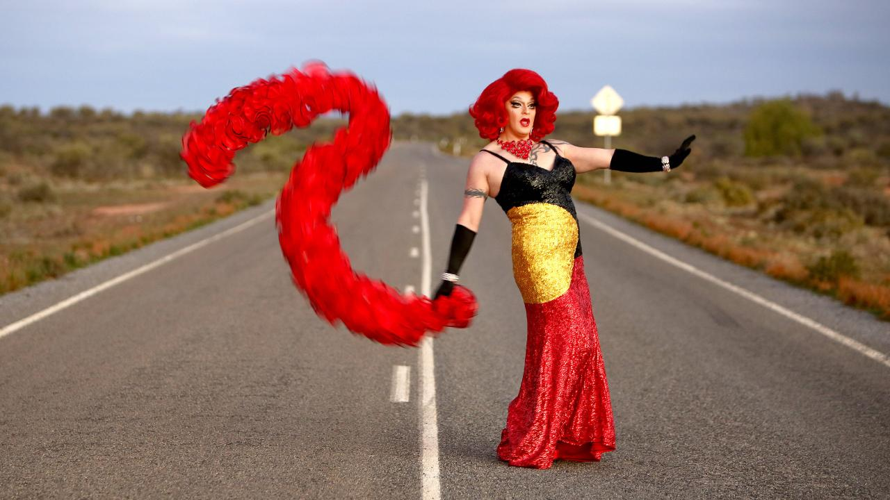 At The Broken Heel drag festival, you might catch Melbourne drag artist Philmah (above). Picture: Chris Pavlich.