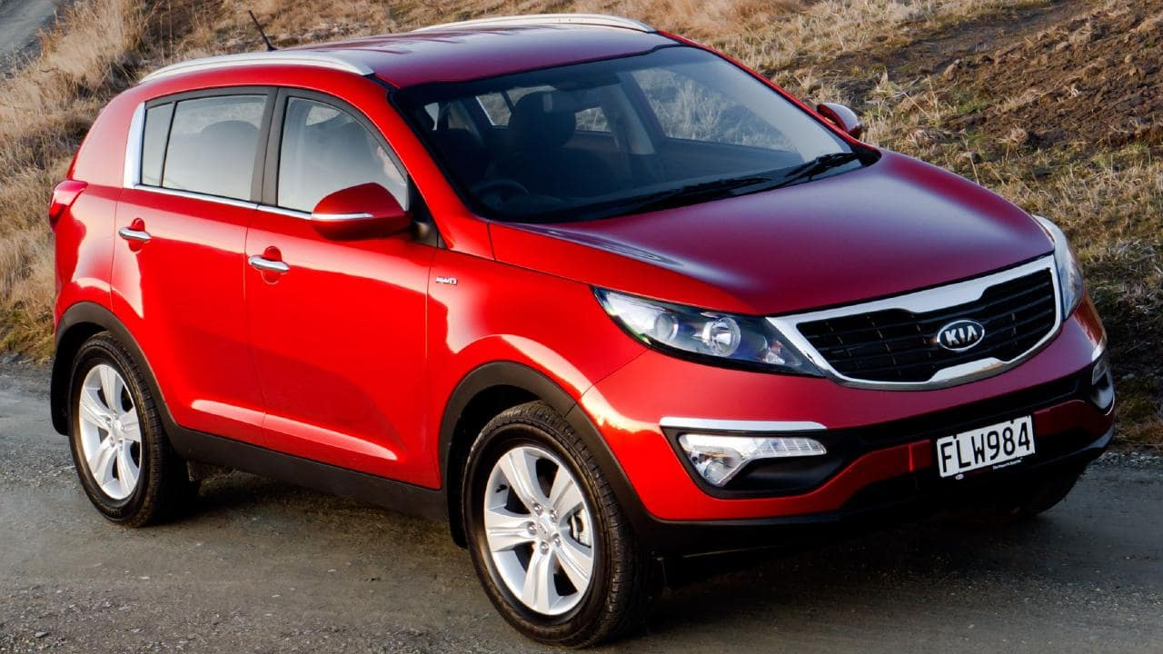 The Sportage was affordable and cheap to run.