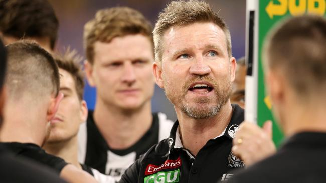 Nathan Buckley and his players are united. Picture: Michael Klein