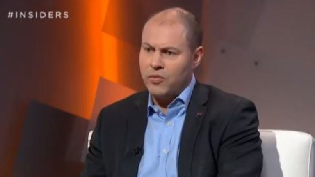 Josh Frydenberg appears on ABC's Insiders.
