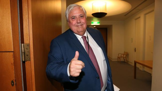 Clive Palmer has re-entered politics as his personal wealth has soared. Picture: Kym Smith