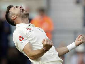 England's bowlers dominate India