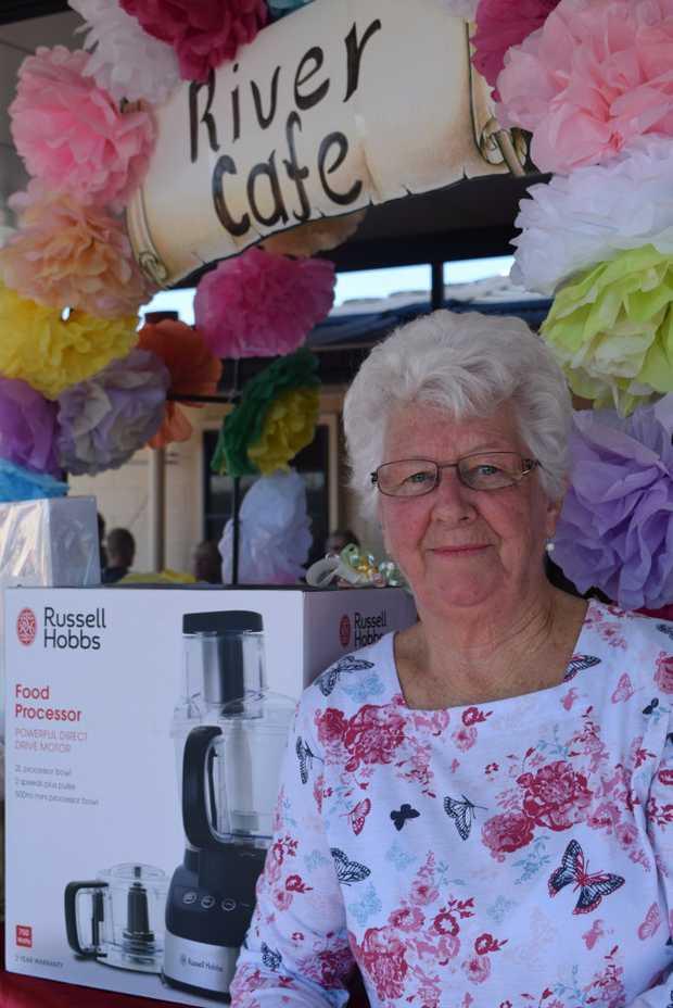 Image for sale: Brisbane River Terraces Spring Fair coordinator Pat Hurley.