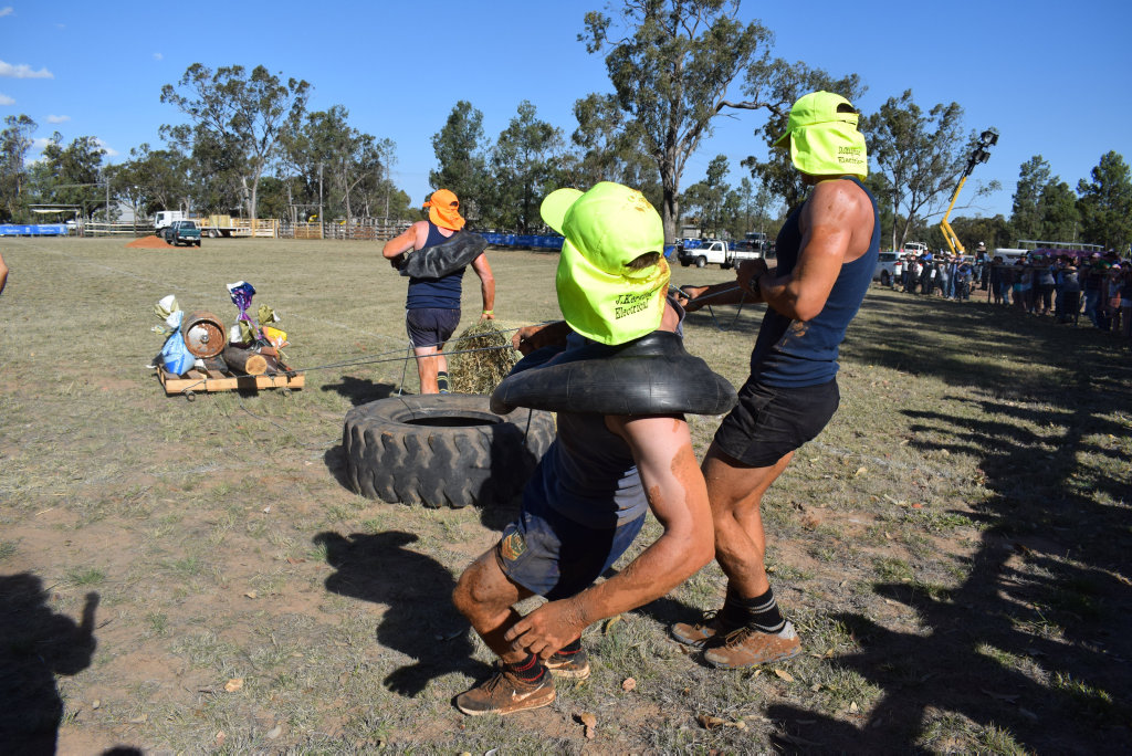 Image for sale: Tough Bugger challenge at the Miles Back to the Bush Main Event, Saturday ,September 8, 2018.