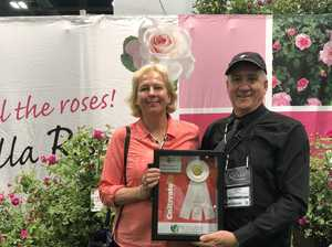 Toowooomba couple's roses put the city on the global stage
