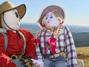 Why scarecrows are appearing in this Qld town