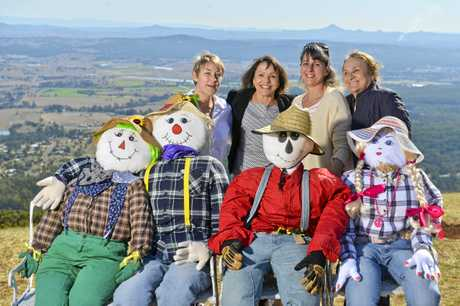 Tamborine Mountain Scarecrow festival preview.