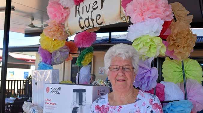 WISHLIST: Brisbane River Terraces Spring Fair co-ordinator Pat Hurley.