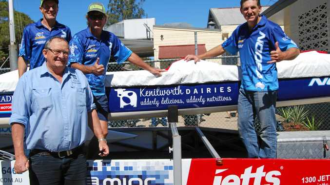 EPIC SUPPORT: John Cochrane and the team at Kenilworth Dairies are sponsoring Noosa's Loggerheads.