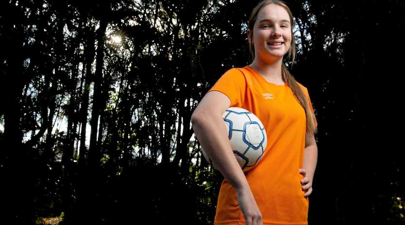 KICKING GOALS: Georgia Beaumont has been selected to play for the Junior Matildas for the 2019 AFC U16 Women's Championship Qualifiers to be held in the Kyrgyz Republic.