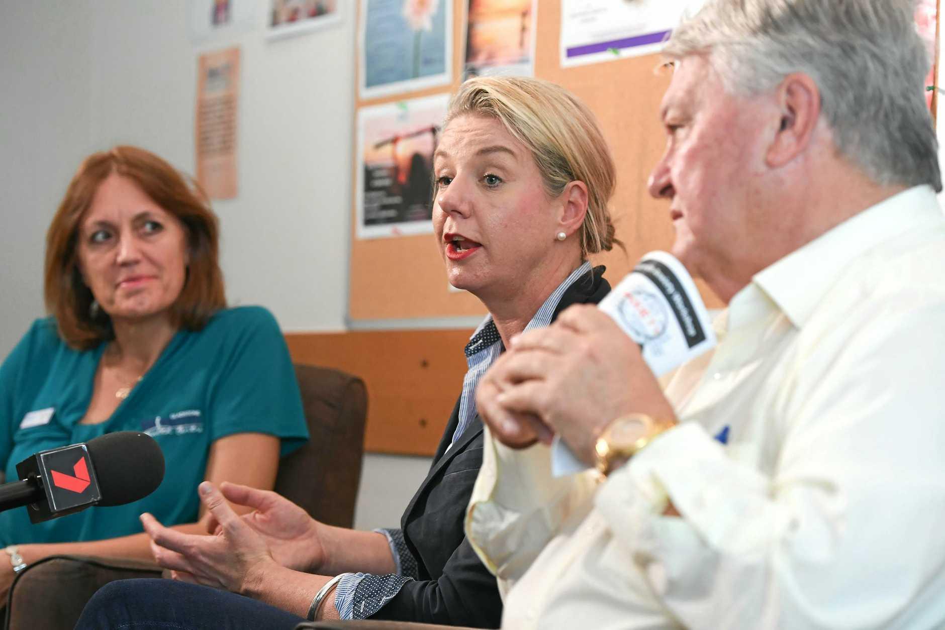 Minister for Sport Bridget McKenzie tours the North Burnett.