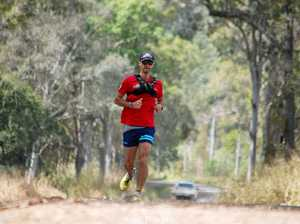 35 MARATHONS, 22 DAYS: Veteran's epic run for PTSD charity