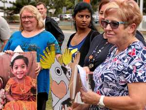 Brisbane residents march for Biloela's asylum seeker family