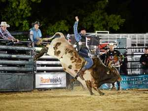 Mackay bull rider takes out PBR Invitational