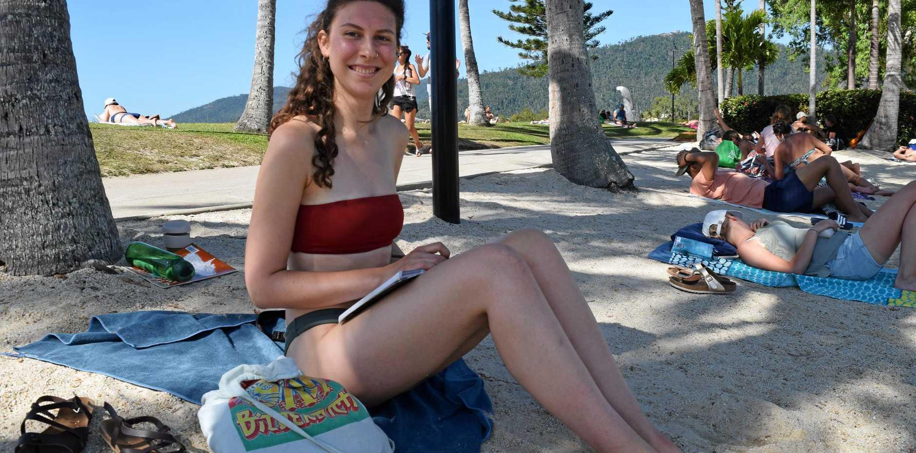 AUSSIE CHARM: Anna Peisser says she loves how Australians can make conversation anywhere.
