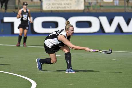 Wests co-captain Amy Nicholls.