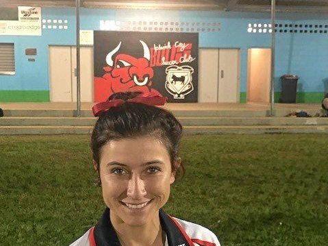 Ipswich City Bulls footballer Nikki Cox