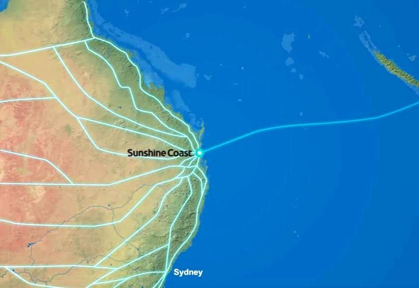 The Sunshine Coast Council wants the private sector to build a submarine broadband cable linking the Coast to the world.