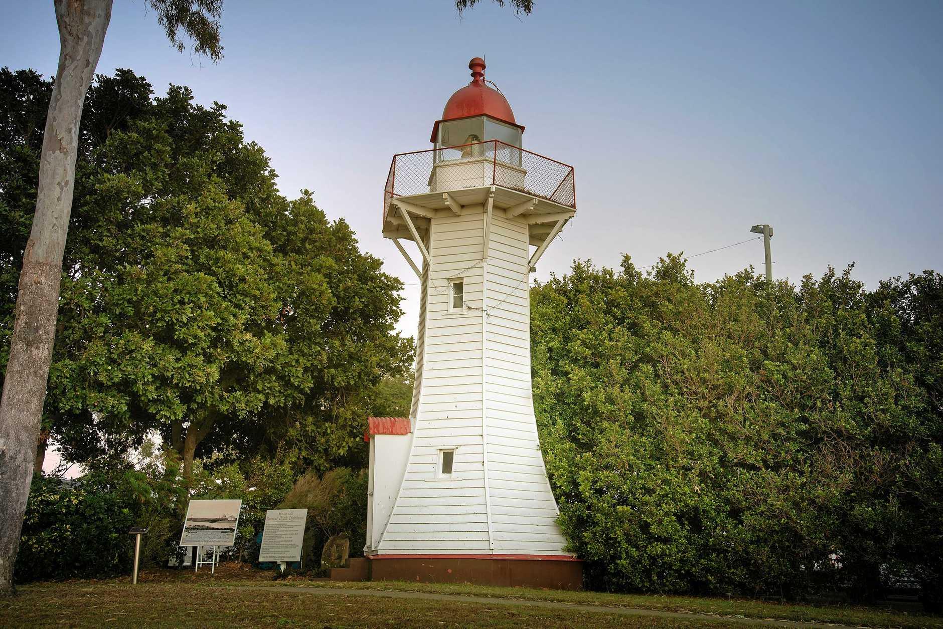 SCENIC: The Burnett Heads Lighthouse.