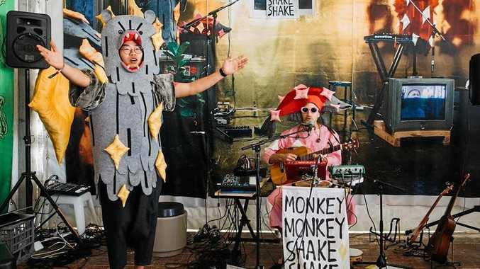 FUN: Byron Shire duo Monkey Monkey Shake Shake.