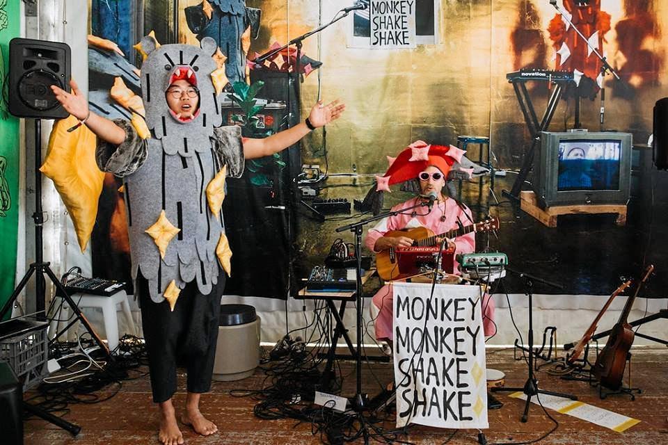 FUN: Byron Shire duo Monkey Monkey Shake Shake.