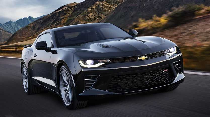 The 2018 Chevrolet Camaro 2SS.