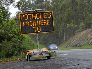 Nine potholed roads take centre stage for council works