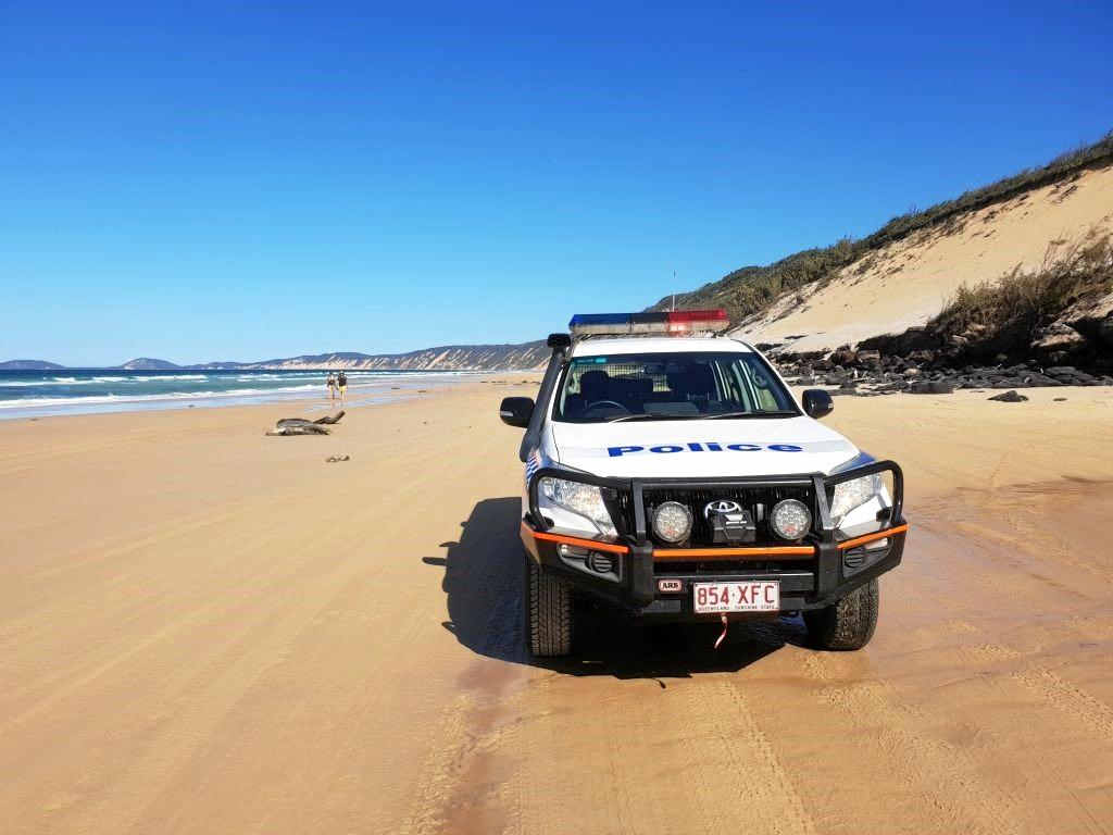 A 21-year-old Caboolture man was charged with dangerous operation of a motor vehicle and drink driving on Rainbow Beach at 3.30pm on Sunday.