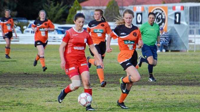 COME BACK: The City Ladies recorded a come-behind-victory to claim their first title in several seasons.