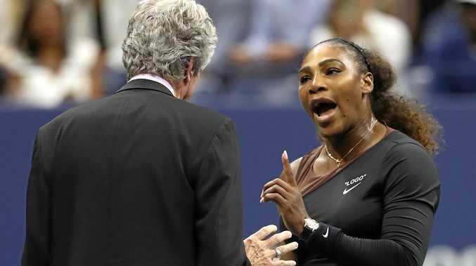 Aussie cartoonist's depiction of Serena causes a firestorm.
