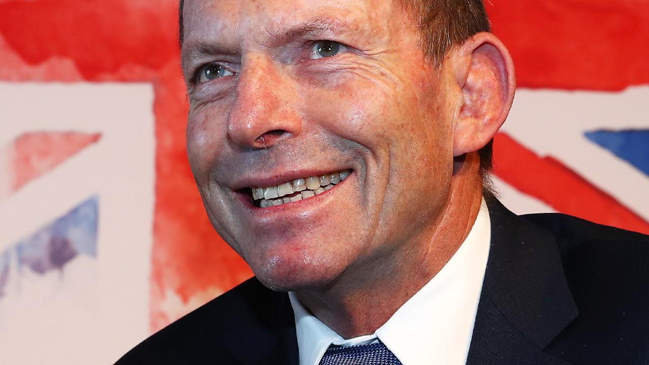 Tony Abbott. Pic: The Australian