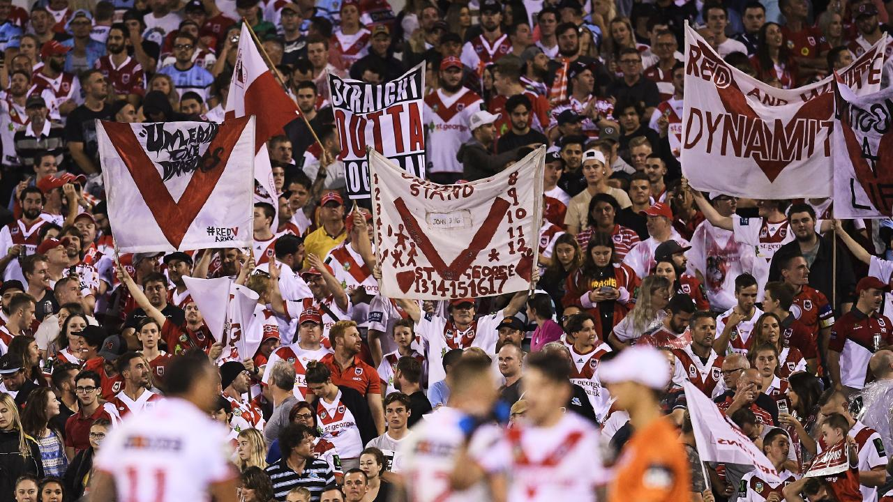 Dragons fans weren't happy with an NRL finals blunder.