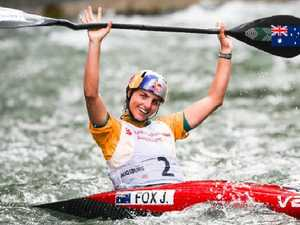 Jessica Fox wins second World Cup crown in 24 hours