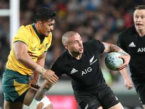 Why Wallaby Samu hid from haka