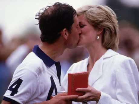 Princess Diana and Prince Charles in happier times in 1987. Picture: Getty Images