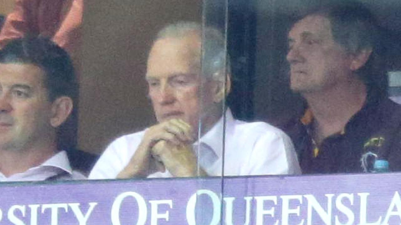 Wayne Bennett invited Andrew Gee into his coaches box on Sunday.